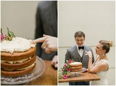 Simple wedding cakes Paris | Image by Richelle Hunter Photography, Styling by Fallon Carter Weddings