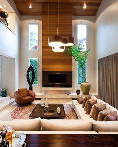 """69 curtidas, 2 comentários - Lele Barros Arquitetura (@lelebarrosarquitetura) no Instagram: """"Bom dia! ✨ O """"Pit Conversation"""" é um estilo de decoração que esteve em alta entre os anos 50 e 70,…"""""""