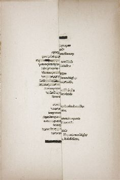 Cecil Touchon, Asemic Poem