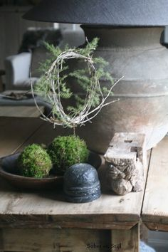 In truth, gray can definitely be cold but it can also be warm Nordic Christmas, Christmas Mood, Rustic Christmas, Xmas, Rustic Charm, Rustic Elegance, Natural Living, Jj Rousseau, Growth And Decay