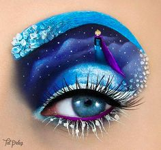 Artist creates stunning pop culture landscapes using only eye makeup: http://www.aol.com/article/2016/03/10/artist-creates-stunning-pop-culture-landscapes-using-only-eye-ma/21325747