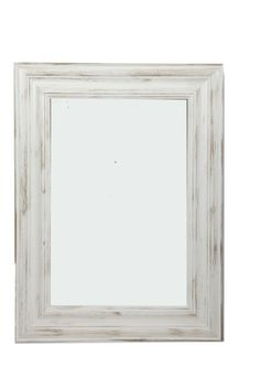 Miroir blanc - SEB13237 Decoration, Mirrors, Shabby Chic, Creations, Decor Ideas, Furniture, Home Decor, White Mirror, Stream Bed