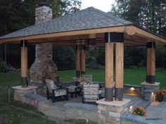 outdoor entertaining structures - Google Search