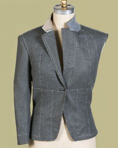 A traditional menswear tailor talks about how to build impeccable shape into garments.