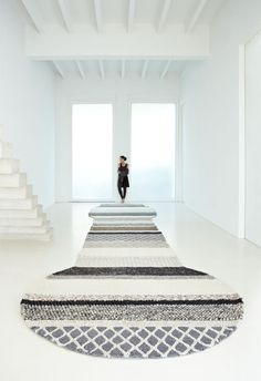 gan rugs, wełniany dywan we wzory, mangas, Patricia Urquiola Patricia Urquiola, Interior Styling, Interior Decorating, Interior Design, Furniture Decor, Furniture Design, Knit Rug, Interior Minimalista, Hygge Home