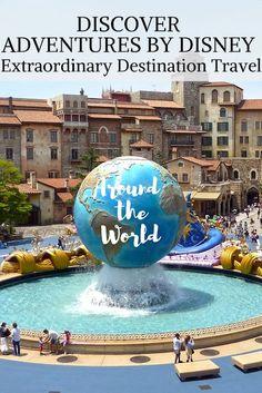 Discover Adventures By Disney for Extraordinary Destination Travel Around the Wworld Disney Destinations, Disney Vacations, Travel With Kids, Family Travel, Best Resorts For Kids, Top Travel Websites, Travel Nursing Agencies, Kid Friendly Resorts, Walt Disney Parks