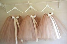 Baby Dress Tutu Tulle Skirts New Ideas Tutu En Tulle, Girls Tulle Skirt, Diy Tutu, Tulle Dress, Tulle Skirts, Mini Skirts, Dress Skirt, Dress Flower, Tulle Flower Girl