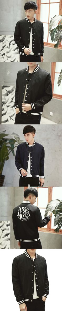 Japanese hip-hop jacket men's cotton padded baseball uniform plus fertilizer increase the size the young winter loose aircraft