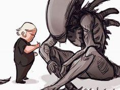Giger tribute /alien