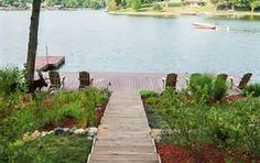 1000 images about lakefront designs on pinterest for Lakefront landscaping photos