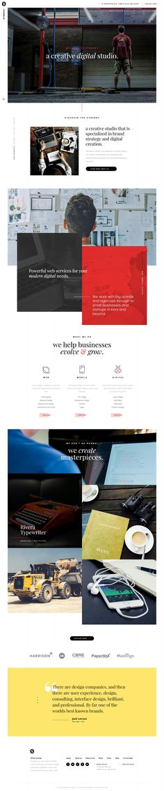 Creative Agency website https://themeforest.net/item/synergy-creative-html-template/18765044