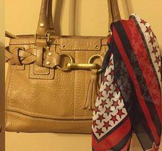 Vintage American scarves Americana accesories vintage by MADMrs