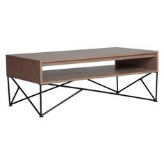 OUR HOME | Fitz | Material:Medium density Fiber Board, Laminated in PVC VinylSize: (L x W x H):106.68 cm x 60.96 cm x 40.64 cm (Center Table)Available Color:WalnutPrice:Php 7,995.00