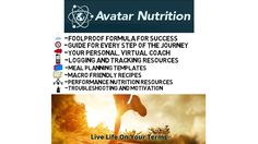 Flexible Dieting with Avatar Nutrition