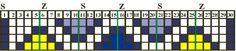 Rauten02 -- Tablet weaving pattern