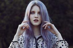 Lila Haare – Haare in Knallfarben sind in Light Purple Hair, Dyed Hair Purple, Pastel Purple, Violet Hair, Purple Haze, Violet Ombre, Purple Gray, Pretty Pastel, Pastel Goth