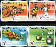 Papua New Guinea 1982 Commonwealth Games SG 460 Scott 571 Fine Used Other Papua New Guinea Stamps HERE!