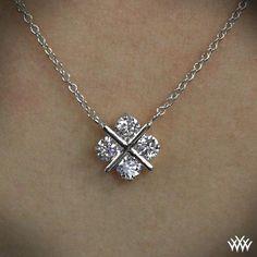 awesome 'XO' Diamond Pendant | 829