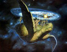 Sir Terry Pratchett (1948-2015) était un homme formidable à l'imagination débordante. Pour notre plus grand bonheur il a accouché sur le papier de la plus étonnante série de livres que vous aurez jamais lu : DiscWorld. Un monde reposant sur quatre éléphants qui chevauchent une tortue géante nageant à travers l'espace intersidéral. ==> https://fr.wikipedia.org/wiki/Terry_Pratchett