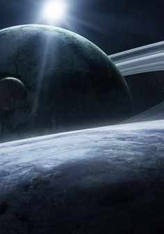 #Art #Space #Planets #Moon #Stars #Rings #Qaz2008. High resolution (1920x1080) wallpaper of this image available at http://www.mindblowingpicture.com/wallpaper/space/wphnrd4m.html