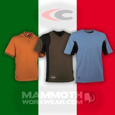Get into Italian style this summer in a Cofra T-shirt.  Cofra's high quality and attention to detail in its garments has made them a real favourite. Originally designed for the workwear market, they come with features such as quick dry fabrics and specially placed channels to improve airflow and overall comfort. Great for working when it's hot, or looking your best out on the town. Workwear Brands, Summer Essentials, Italian Style, Wardrobes, Quick Dry, Work Wear, Overalls, Fabrics, Mens Fashion