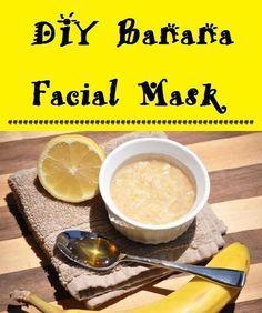 DIY Banana Facial Mask