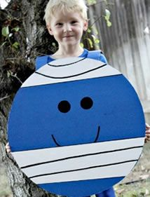 Mr Bump Costume - Mr Men Costume _ World Book Day