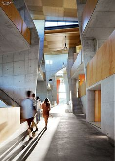 Architecture School Studio cave-like rooms at bond university architecture facultycrab