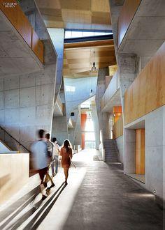 Ripple Effect: CRAB Studio Designs Queensland Architecture School, Australia