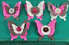 SAF - Homemade Embellishments  from My Favorite Things by Dawn McVey (dawnsing)#Repin By:Pinterest++ for iPad#