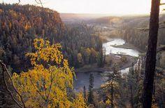 Lappland Finland, ruska aika peautiful