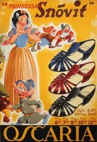 Oscaria Shoes - Snow White