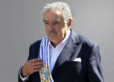 Ex-presidente do Uruguai Pepe Mujica em novembro em Foz