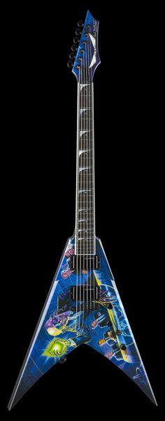 Guitarra Dean Dave Mustaine Rust In Peace.