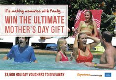 competition For all Mums Relaxing Holidays, Making Memories, Driving Test, Mother Day Gifts, Competition, Creating Keepsakes
