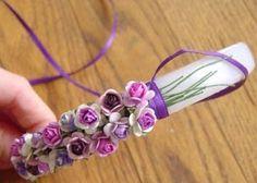 Como hacer diademas de flores para niñas que complemente ese vestidito especial ;)