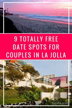 La Jolla is full of things to do, but that can mean that your purse can get a little empty! However, you don't need to spend a lot of money for a perfect date. Here are our favorite totally free date spots for couples in La Jolla! ttps://www.lajolla.com/article/9-free-date-spots-couples-la-jolla/?utm_medium=landing%20page&utm_source=pinterest&utm_campaign=romantic%20spots