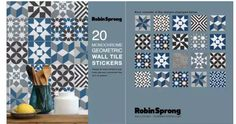 Geometric Wall, Wall Tiles, Decorative Accessories, Monochrome, Decals, Stickers, Design, Products, Home Decor
