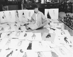 Edith Head, famous costume designer.