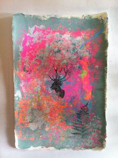 Maleri med tusch