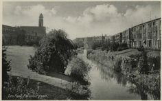 The Hague, Netherlands, Holland, Dutch, Panorama, Snow, Outdoor, Antique Post Cards, Nostalgia