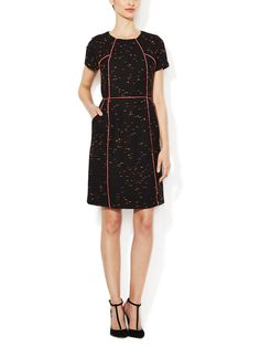 Ayala Contrast Piped Sheath Dress from Brands to Know Feat. Shoshanna on Gilt