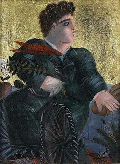 Alecos Fassianos Greek Paintings, 10 Picture, Greek Art, Color Of Life, Conceptual Art, Printmaking, Modern Art, Illustration Art, Fine Art