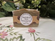 Texas T&T Home Made Maple Glazed Bacon Natural Lye Soap 4.5 oz  Handmade With Coconut Oil by TexasTAndT on Etsy