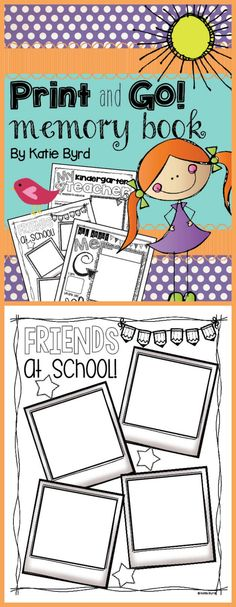 free printables end of the year memory book home school stuff pinterest school memories. Black Bedroom Furniture Sets. Home Design Ideas