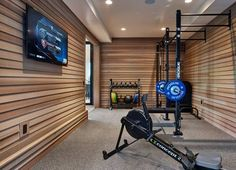 Image result for home gym garage