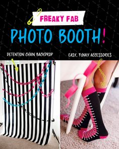 Monster High Party Ideas   Part 1: Ghoul Time Photo Booth & Activities!