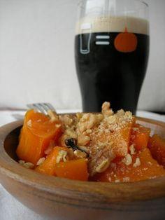 Almost Turkish Recipes: Turkish Pumpkin Dessert (Kabak Tatlısı)....honey instead of sugar...I bet it turns out great!
