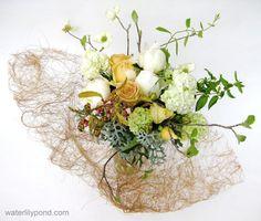 Waterlilypond flower arrangemen 2