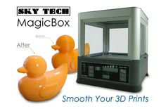 MagicBox Cabinet Smooths Off Your 3D Prints With Ease